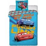 Jerry Fabrics povlečení Cars Races 140x200 70x90