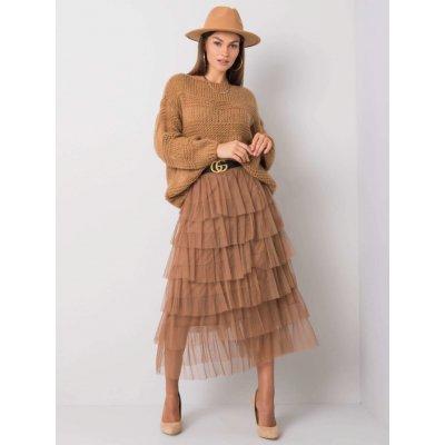 Nabíraná sukně tw-sd-bi-0606.92 brown