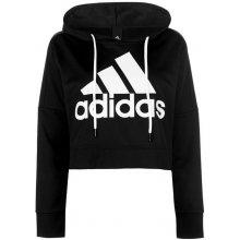 Adidas Logo Crop HoodLd83 black white 48ff175751