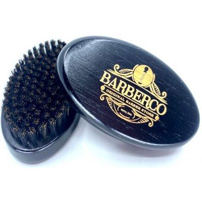 Barberco elegantní kartáč na vousy z kančích štětin