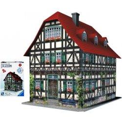 Ravensburger 3D puzzle Hrázděný dům 216 dílků Heureka.cz
