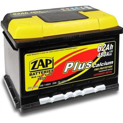 ZAP Plus 12V 62Ah 480A 56259