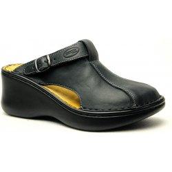 8e2104e123a Orto Plus 3060-60V plné pantofle zdravotní černé od 1 440 Kč ...