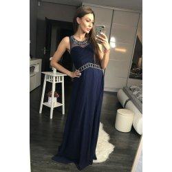 c75b47777370 Eva   Lola luxusní dlouhé plesové šaty tmavě modrá od 2 449 Kč ...