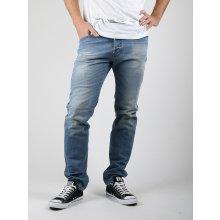 Džíny Diesel Belther Pantaloni Modrá