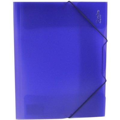 Karton P+P s gumou A4 Opaline modrá 2-592