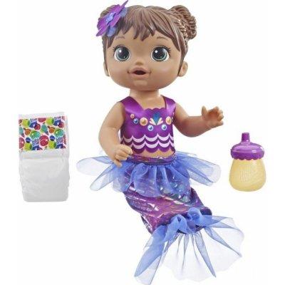 Hasbro Baby Alive Tmavovlasá mořská panna