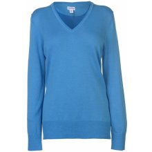 Ashworth V Neck Golf Jumper Ladies Marq Blue
