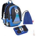 Topgal Sada pro školáka CHI 798 D SET MEDIUM batoh pouzdro sáček na cvičky