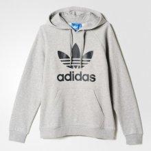 Adidas Original 3Foil Hood melange šedá