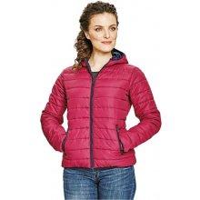 CRV FIRTH LADY zimní dámská bunda tm. růžová