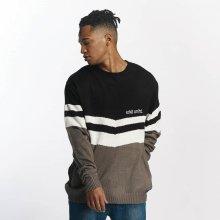 Ecko Unltd. Pánský pulovr od Jumper Sheep Monday šedo-černý