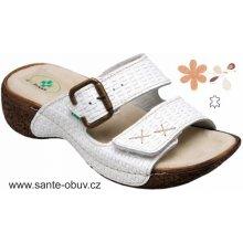 Santé N 109 1 01 zdravotní pantofle bílé 7bf79704a8