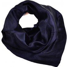 Šátek saténový 63sk001-36 tmavě modrý 79a1356d33