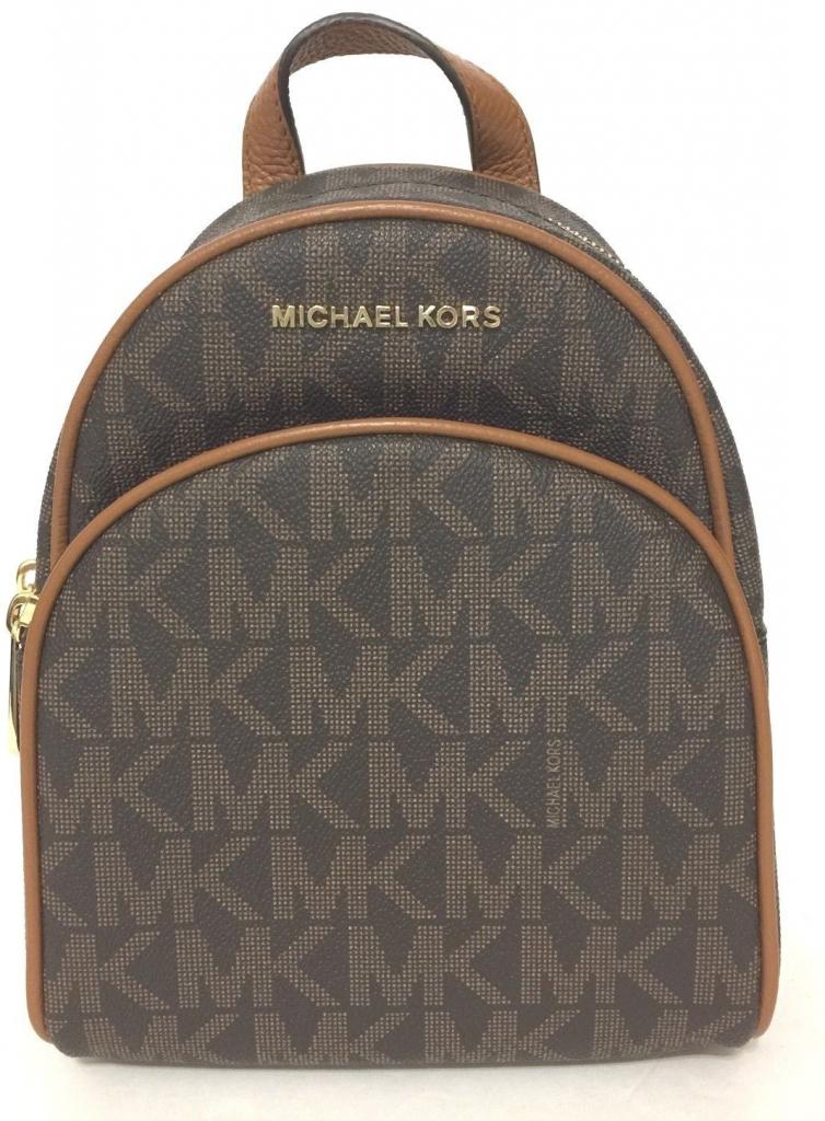 fd4a6bf806 Michael Kors Abbey XS Backpack hnědá od 5 890 Kč - Heureka.cz
