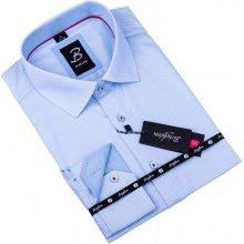 f6ae86ebd74 Šedobílá pánská košile slim fit Brighton 109904