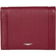 62b29a25bc1 GIUDI pánská červená kožená peněženka 7434