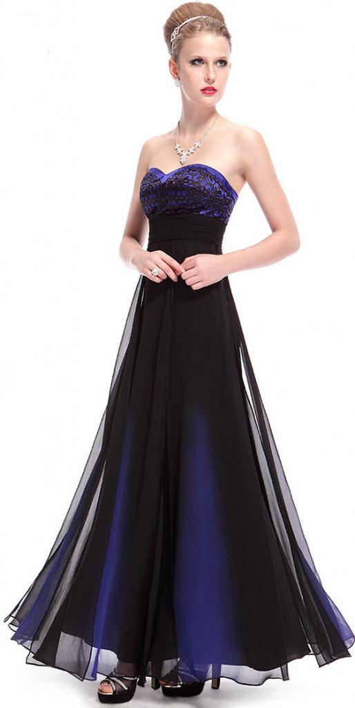 c15159d7dc3 Filtrování nabídek Ever Pretty dlouhé šaty v barvě noční oblohy HE08070SB -  Heureka.cz