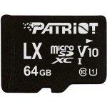 Patriot microSDXC class 10 64GB SF64GLX1MCX