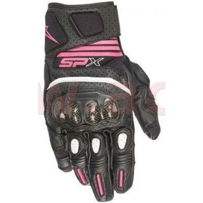 rukavice STELLA SP X AIR CARBON 2, ALPINESTARS (černá/fialová) (Velikost: L) 3517319-1039