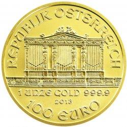 Wiener Philharmoniker Münze Österreich Zlatá mince 1 Oz