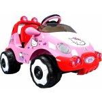 INJUSA Elektrické autičko Racing Car Hello Kitty