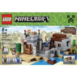 Lego Minecraft 21121 Pouštní hlídková stanice Heureka.cz
