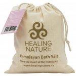 Healing Nature koupelová sůl s květem růže 1000 g