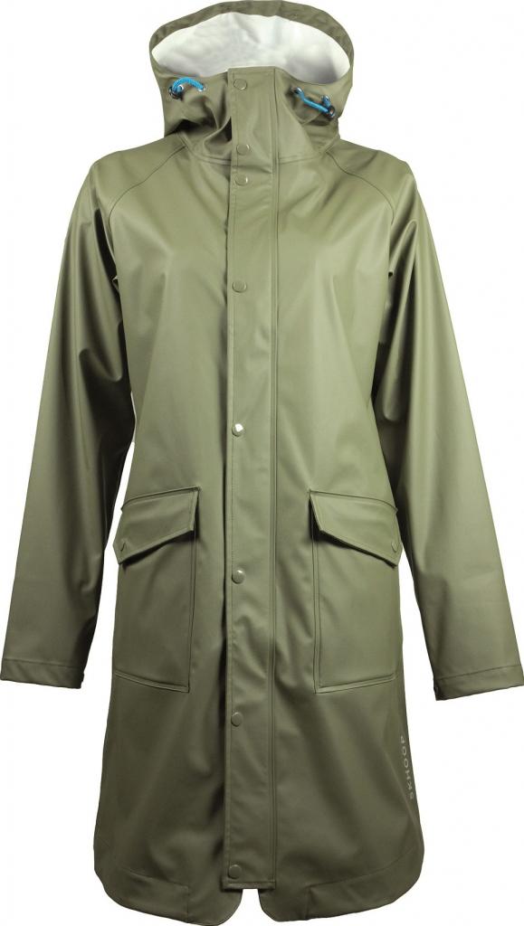 09e396ccef Skhoop Ginger Rain Coat kabát do deště olive