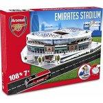 Nanostad 3D puzzle fotbalový stadion UK Emirates Arsenal