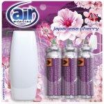 Air menline spray osvěžovač Japanese cherry rozprašovač 3 x 15 ml