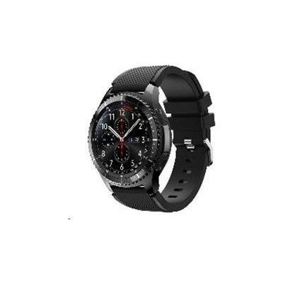 ESES silikonový řemínek pro Samsung Galaxy Watch 46mm/Samsung gear s3 černý 1530000382
