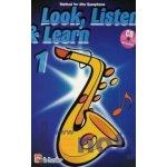 LOOK, LISTEN & LEARN 1 + CD method for alto sax / altový saxofon