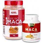 Adiel maca 100% Bio 400 g + 90 cps.