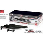 RCBUY RC loď High Speed Racing Boat Black Carbon
