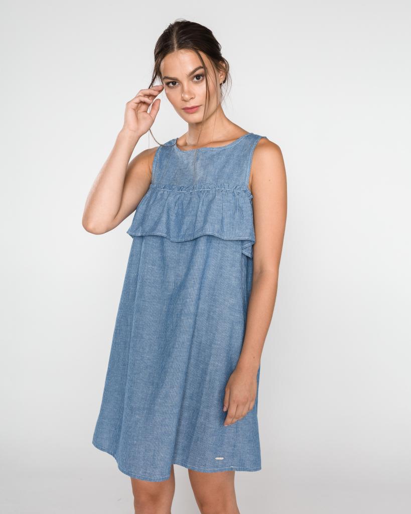 e0c965f38a51 Tom Tailor dámské šaty Denim modrá od 939 Kč - Heureka.cz