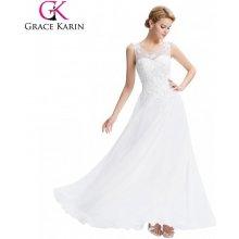 27d10cff91be Grace Karin společenské šaty CL007555-3 bílá