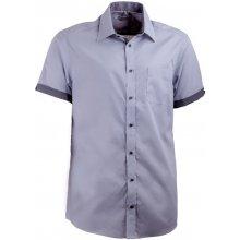 Aramgad Šedá košile rovná kombinovaná 40140