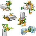 POWERplus Junior Solárny recyklátor vzdelávacia hračka 6 v 1