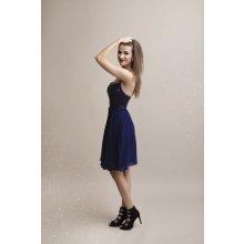 Eva   Lola společenské šaty Fabia tmavě modrá bdf3ea5455