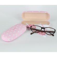 Pouzdro na brýle růžové s puntíky Isabelle Rose