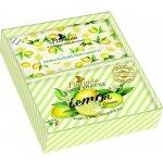 La Dispensa Limone 200 g mýdlo + tři vonné sáčky s vůní citrónu dárková sada