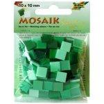 Folia Mozaika plastová 10x10 mm Zelená
