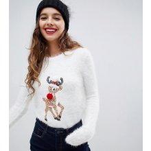 Bravesoul Dámský vánoční svetr Xmas Pom Pom