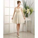 LM moda krátké společenské šaty 17121 žlutá 3913a9b534