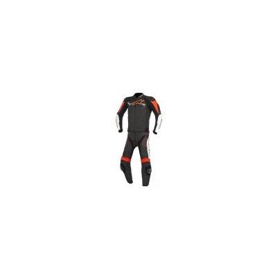 dvoudílná moto kombinéza Alpinestars Challenger černá/bílá/červená, 48