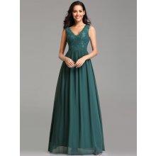 3843b895d61 Ever Pretty šaty s krajkou 7577 zelená