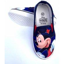 Setino Dětské Slip On tenisky Mickey Mouse