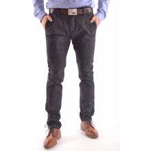 1cf406224d3 pánské elastické sportovně-elegantní kalhoty M.SARA KA 8768 antracitové