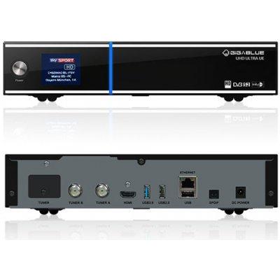 GigaBlue UHD UE 4K (1x dual DVB-S2X FBC + 1x dual DVB-T2C)